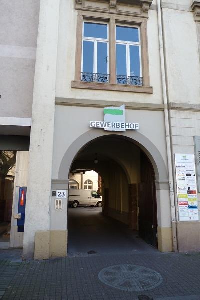 Eingang Palaver