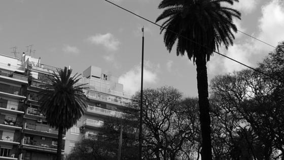 Katerstimmung im Januar Buenos Aires in Grau