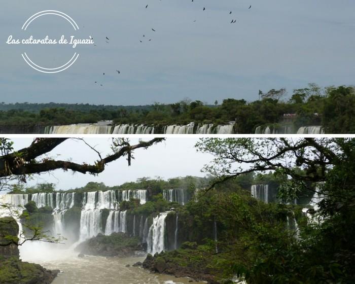 Las cataratas de Iguazù