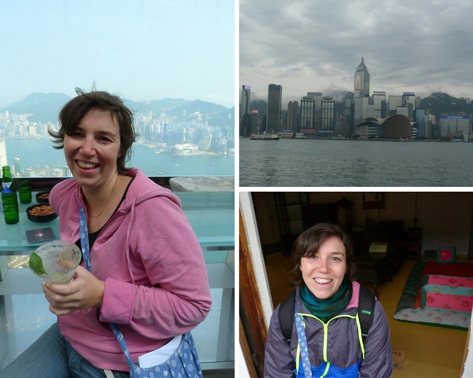 Dick eingepackt in Hongkong und Seoul